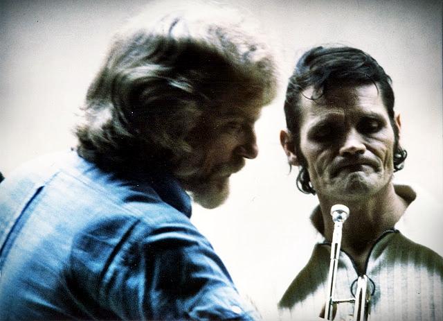 Gerry Mulligan e Chet Baker nel 1974