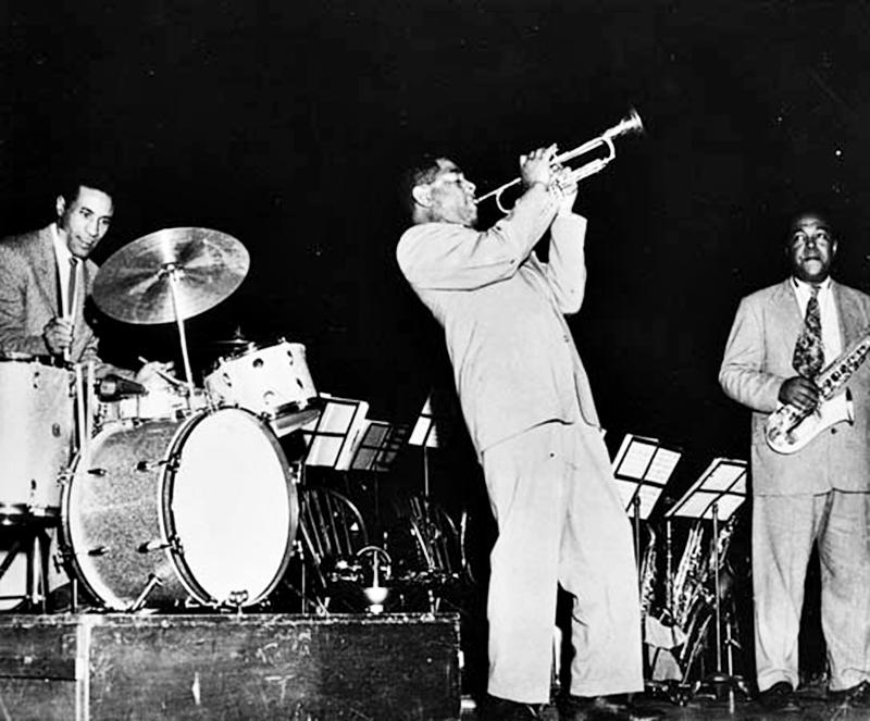 Roach, Gillespie e Parker